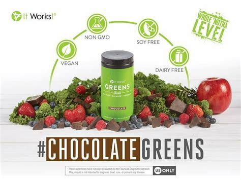 It Works 90 Day Greens Detox by New Product It Works Chocolate Greens Black Dress