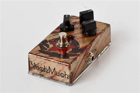 Handmade Effects Pedals - handmade effects pedals black muck limited jam pedals