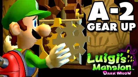 Kaset Luigi S Mansion Moon 3ds luigi s mansion moon gloomy manor a 2 gear up nintendo 3ds gameplay walkthrough