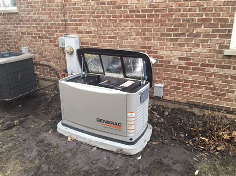 generac whole house backup generator install naperville il
