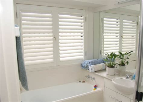 bathroom shutters interior cheap and easy ways to decorate your boring bathroom totally home improvement