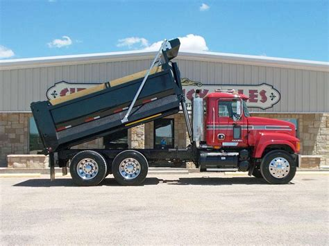 mack dump truck 2008 mack chu613 heavy duty dump truck for sale
