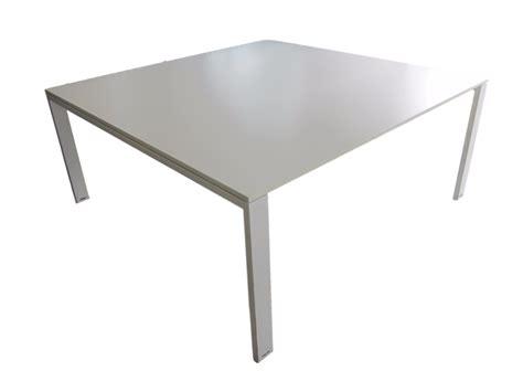 cr馥r un bureau table de r 233 union blanche d occasion carr 233 e 168 x 168