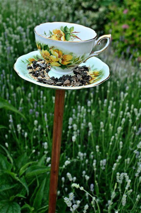 Beautiful Bird Feeders Wonderful Diy Beautiful Teacup Bird Feeder