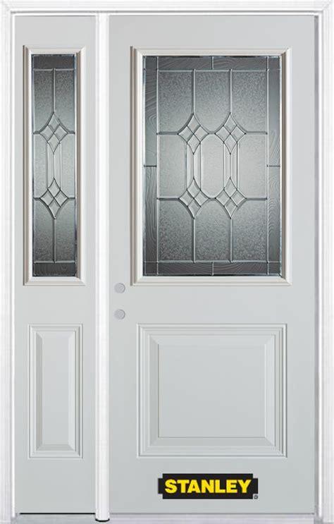 48 Inch Doors by Stanley Doors 48 Inch X 82 Inch Orleans 1 2 Lite 2 Panel