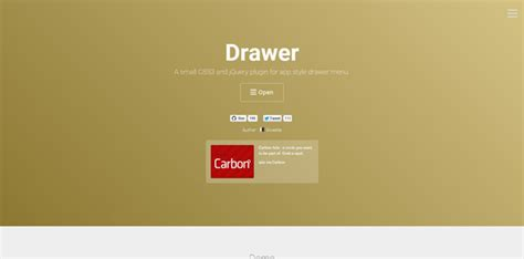 Jquery Drawer Menu by Jquery Menu Plugins For Animating Your Menus Code Geekz