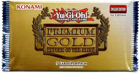 Yu Gi Oh Premium 17 Freesul yugioh premium gold return of the bling booster pack on
