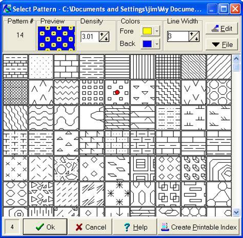 excel pattern types rockworks 2004 revision history