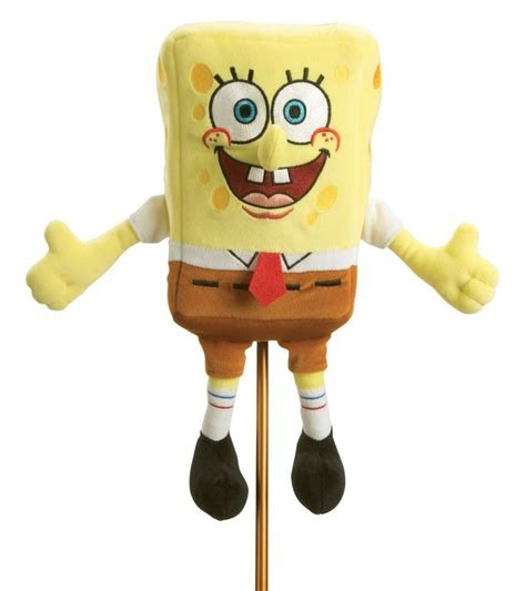 spongebob squarepants golf head cover sports pinterest
