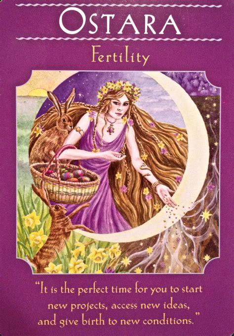 goddess easter ostara fertility archangel oracle guidance