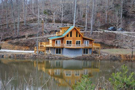 River Lake Cabin Rentals by Track Lake Cabins River Gorge Luxury Lakeside