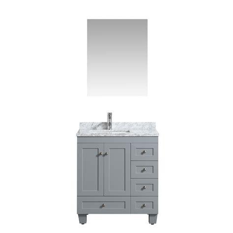 30 x 18 bathroom vanity tops eviva happy 30 quot x 18 quot transitional grey bathroom vanity