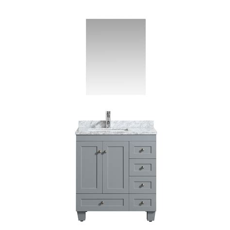 30 by 18 bathroom vanity eviva happy 30 quot x 18 quot transitional grey bathroom vanity