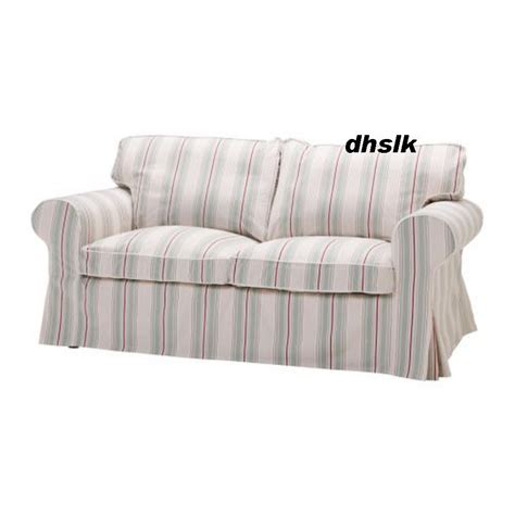 ikea ektorp 2 seater sofa covers ikea ektorp 2 seat sofa cover sigsta pink stripes bezug