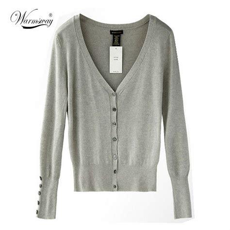 Pakaian Wanita Top Knit Tees american apparel brand quality shell button knit top womens knitting cardigan