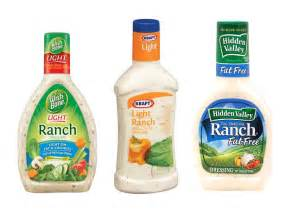 pictures low calorie salad dressings low calorie ranch