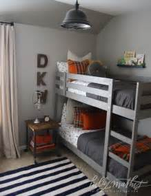 Bunk Bed Nightstand 10 Awesome Boy S Bedroom Ideas Boys Metals And Striped Rug