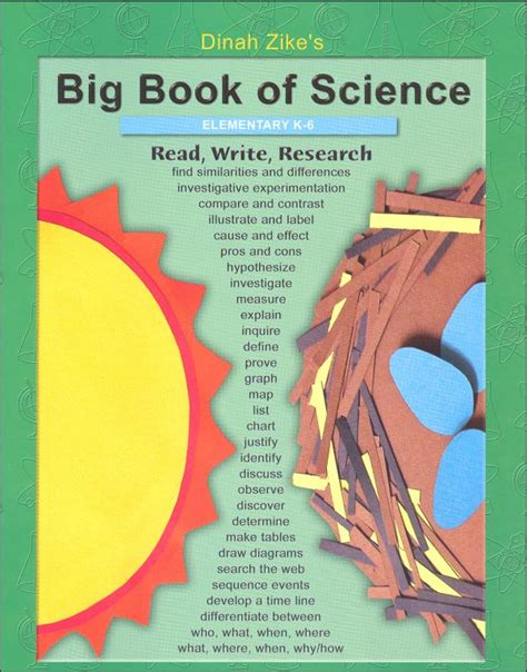 the science book big big book of science k 6 003015 details rainbow resource center inc