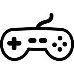 game controller hand drawn tool icons free download