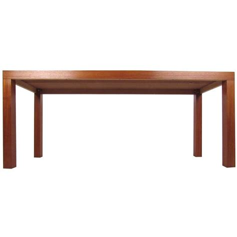 natural wood sofa table mid century modern style natural wood finish console table