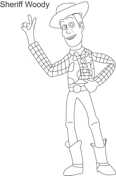 free coloring pages of woody y jessie
