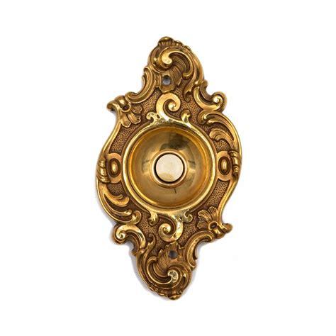 Bel Pintu Kuningan Brass Doorbell antique german baroque push button doorbell door bell electric brass vtg ebay