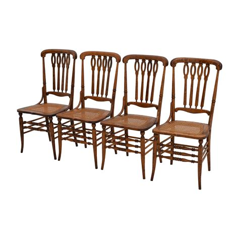 Antique Wood Dining Chairs 52 Antique Weaved Wood Dining Chairs Chairs