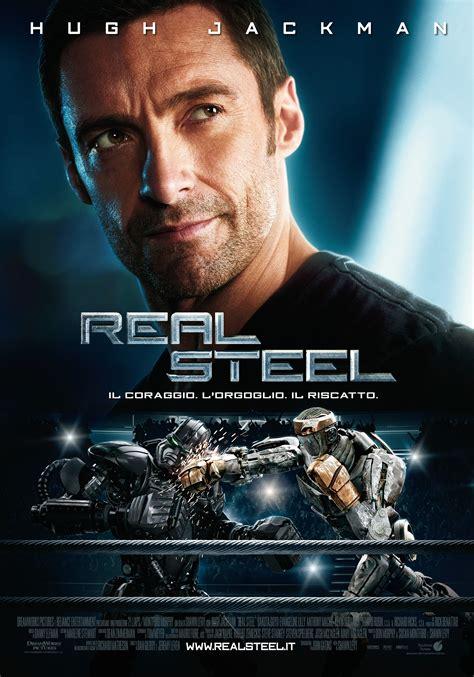 gig robot film quando esce real steel la locandina italiana cinezapping