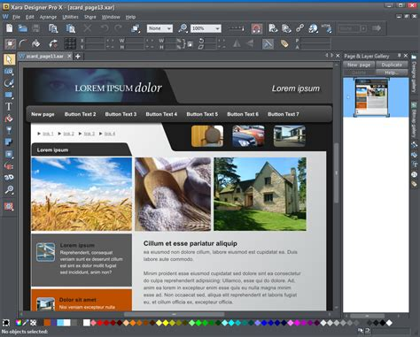 webpage layout design software xara designer pro free full download download free softwares