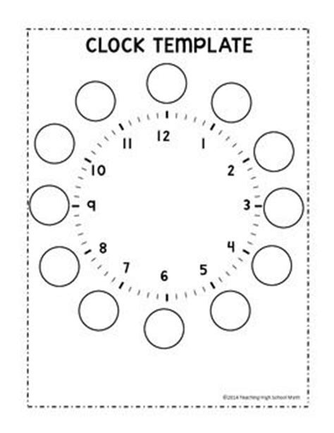 clock templates for telling time clock telling time and notebooks on