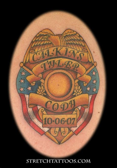 badge tattoo badge www pixshark images galleries
