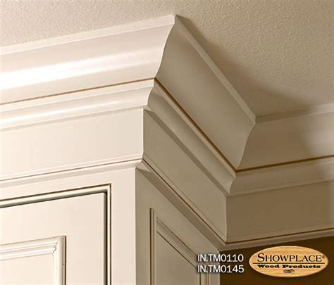 Kitchen Cabinet Crown Molding Making The Most Of Molding The Cabinet Store