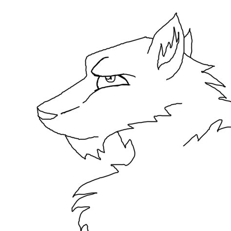 wolf template wolf template by deathgripthescorge on deviantart