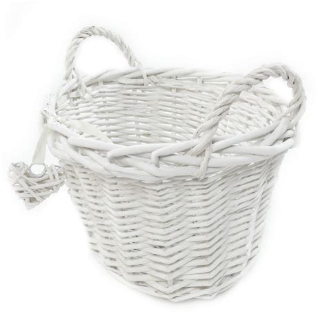 white grey shabby chic wicker kitchen fruit oval storage baskets xmas her basket topfurnishing