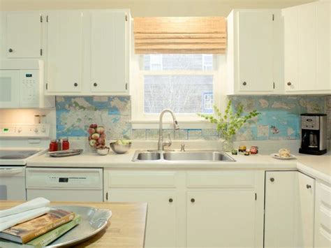 kitchen backsplash diy ideas 30 unique and inexpensive diy kitchen backsplash ideas you