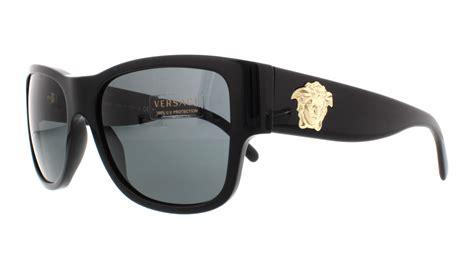Versace Sunglasses versace sunglasses ve4275 gb1 87 black 58mm 8053672278972