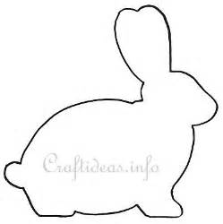 bunny template 17 best images about easter templates on