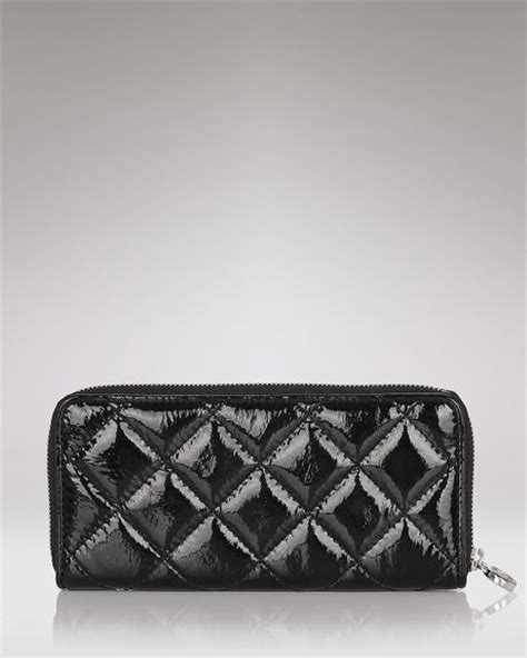 Michael Kors Black Quilted Wallet by Michael Kors Michael Hamilton Quilted Leather Continental