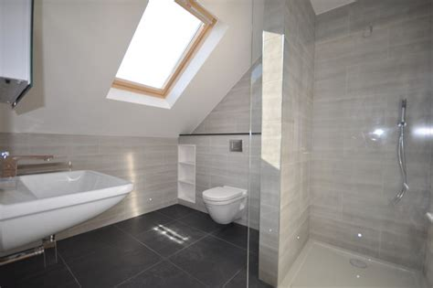 loft conversion bathroom ideas home extension loft conversion refurbishment contemporary bathroom by ashville inc