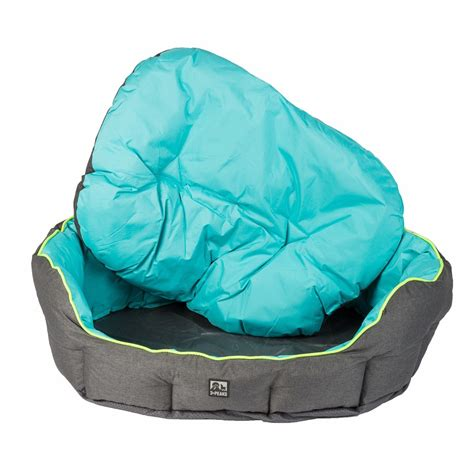 turquoise dog bed 3 peaks turquoise nevis scalloped dog bed large pets at home