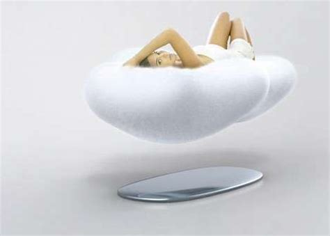 floating cloud sofa floating sofas the cloud uses magnets to let you enjoy