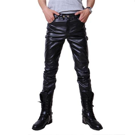 cheap mens motorcycle online get cheap black leather pants men aliexpress com