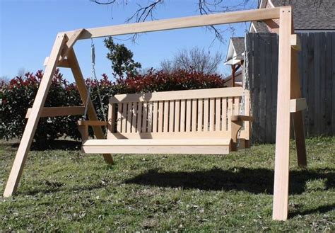 6 foot porch swing new personalized short a frame 6 foot swing w custom name