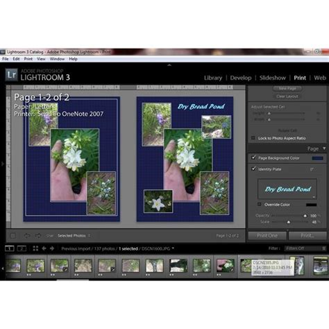 Get Lightroom 3 Templates Tips On Using Templates Effectively Lightroom Print Templates