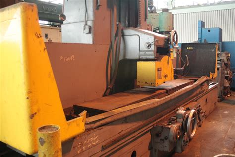 24 quot x 120 quot mattison hydraulic horizontal surface grinder
