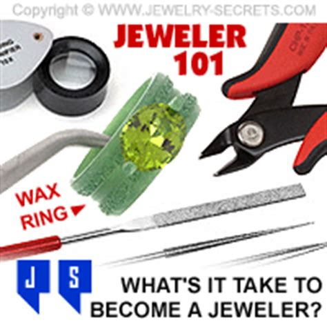 want a career as a jeweler or goldsmith jewelry secrets