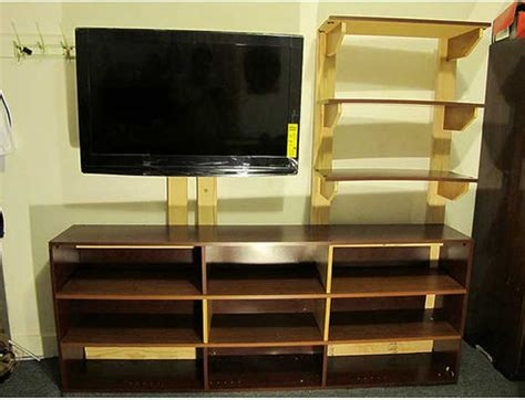 tv bookshelves 50 creative diy tv stand ideas for your room interior