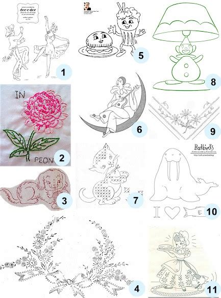 Free Handmade Embroidery Designs - free patterns for embroidery 171 free patterns