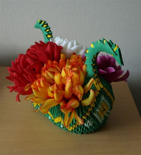 origami dragon boat instructions dragon boat 3d origami by denierim on deviantart