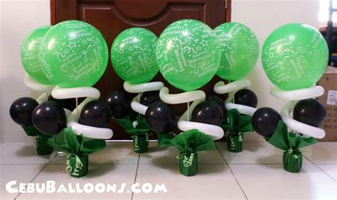green and decorations minecraft cebu balloons and supplies